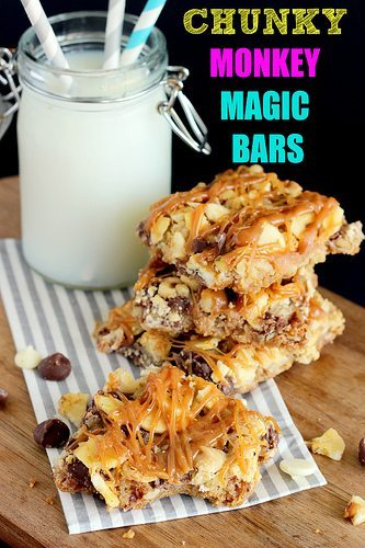Chunky Monkey Magic Bars by Beyond Frosting