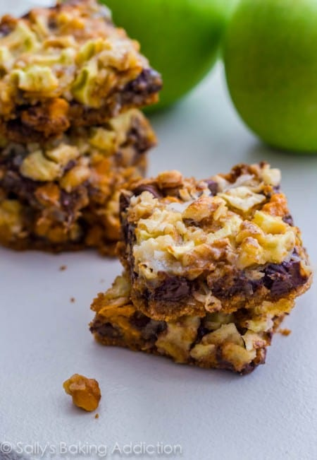 Apple 7 Layer Bars