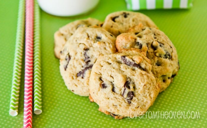 Reduced Calorie Chocolate Chip Cookies