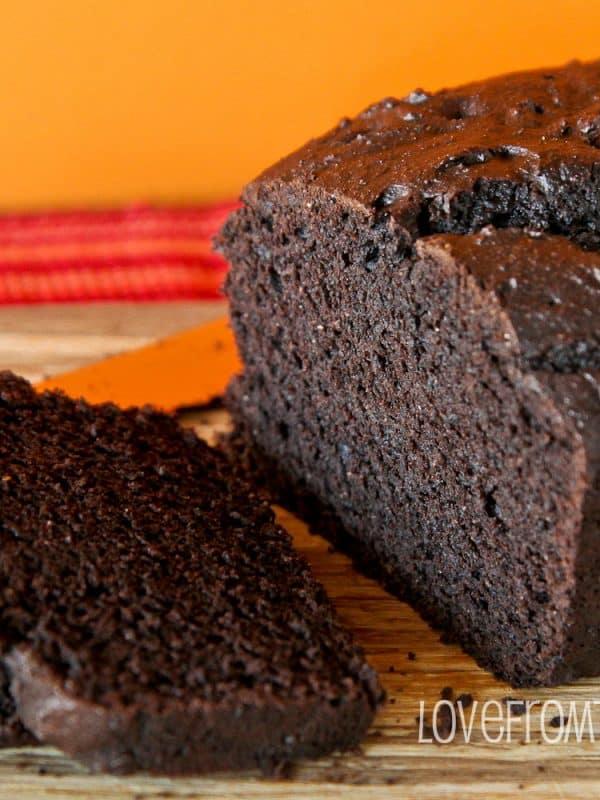 Dark Chocolate Pumpkin Bread