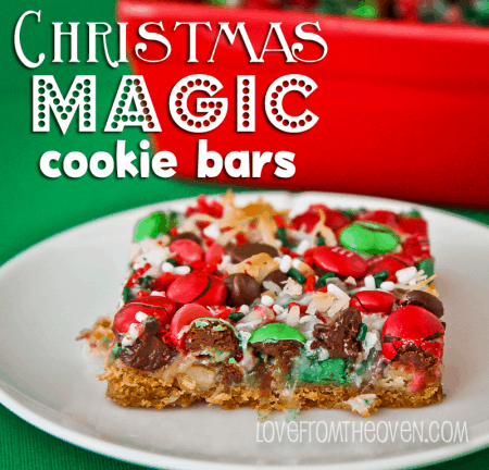 Christmas Magic Cookie Bar Recipe