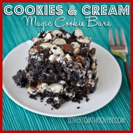 Cookies And Cream Magic Cookie Bar Recipe