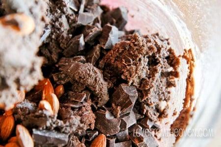 Dark Chocolate Almond Cookies-4