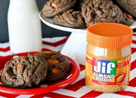Dark Chocolate Almond Cookies-9