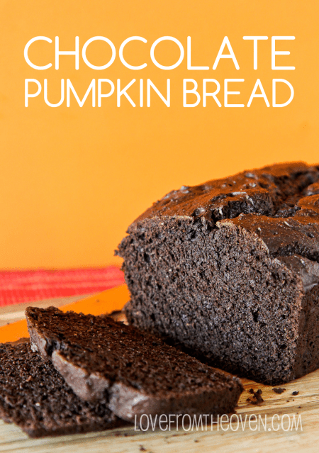 Dark Chocolate Pumpkin Bread Recipe
