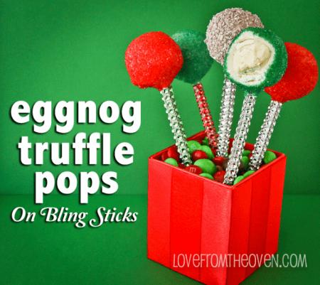 Eggnog Truffle Recipe
