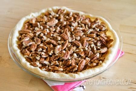 Recipes for pecan pie