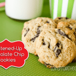 Lightened Up Holiday Chocolate Chip Cookies