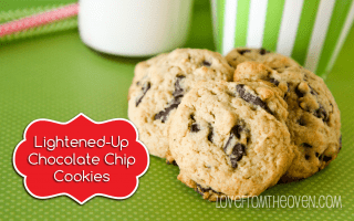 Lower Sugar Chocolate Chip Cookie Recipe