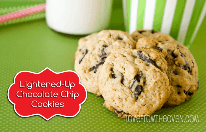 Lower Sugar Chocolate Chip Cookie Recipe