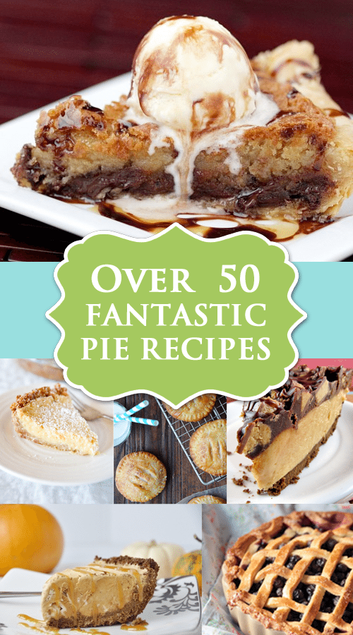 Over 50 Fantastic Pie Recipes at Love From The Oven