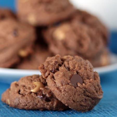 Peanut Butter Cup Chocolate Cookie Recipe