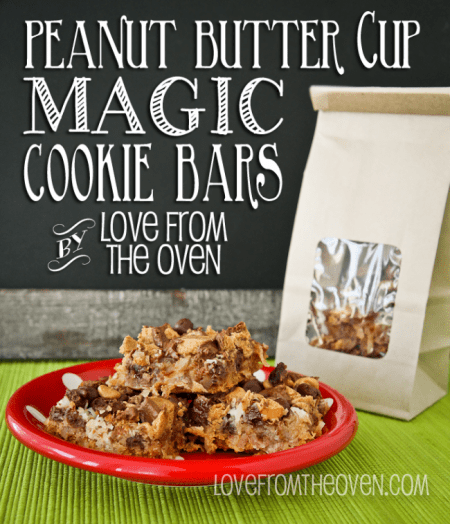 Peanut Butter Cup Seven Layer Bars