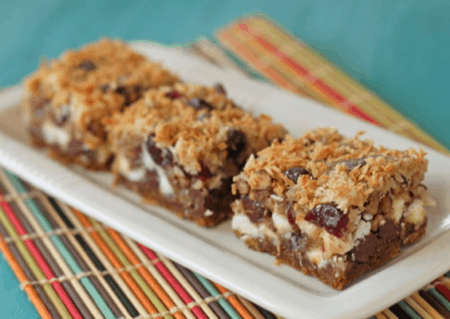 Coconut Ginger 7 Layer Bars From Oh Nuts!