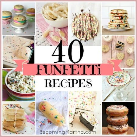 40 Funfetti recipes