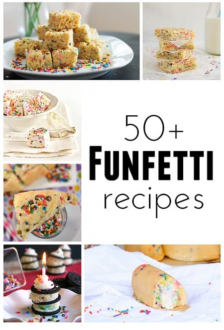Funfetti Recipes