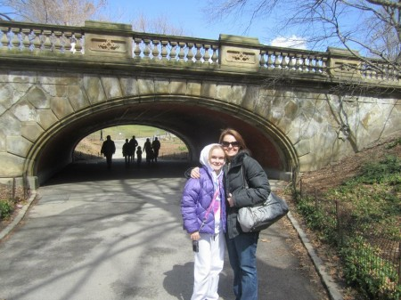 Visiting Central Park