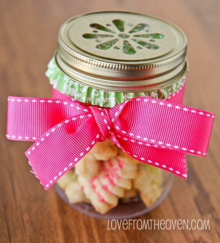 Cookies In Mason Jars