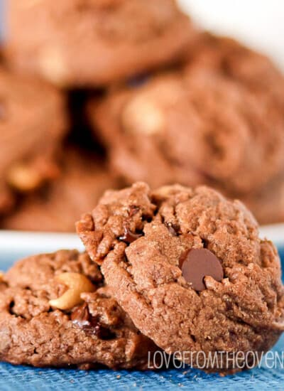Chocolate Peanut Butter Cup Cookie Recipe