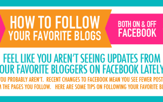 Following Your Favorite Blog