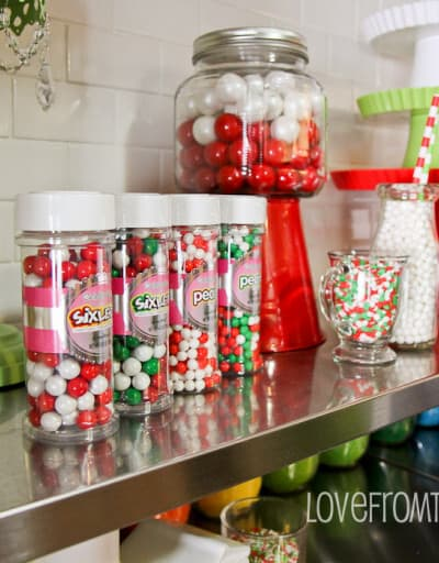Holiday Decorating With Candy And Baking Supplies