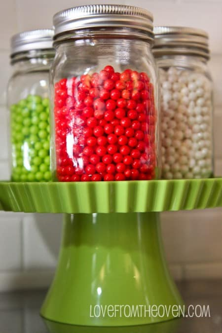 Candy In Glass Jars