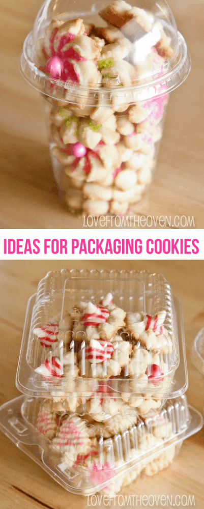 Ideas for packaging baked goods