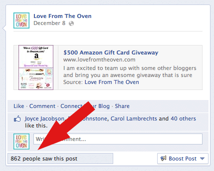 Favorite Pages Now Showing On Facebook