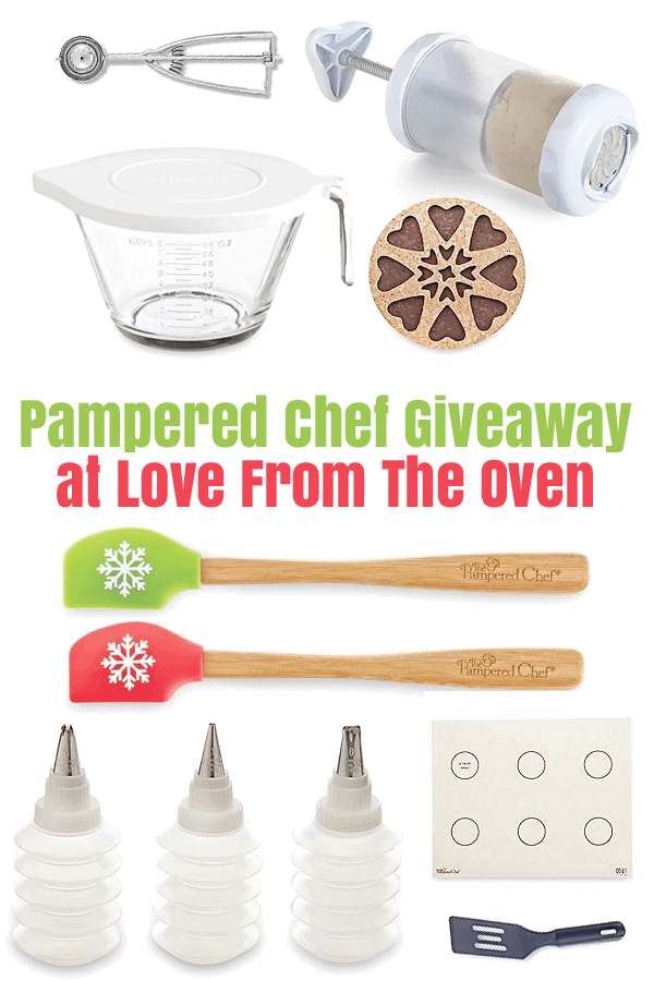 Pampered Chef Cookie Tools