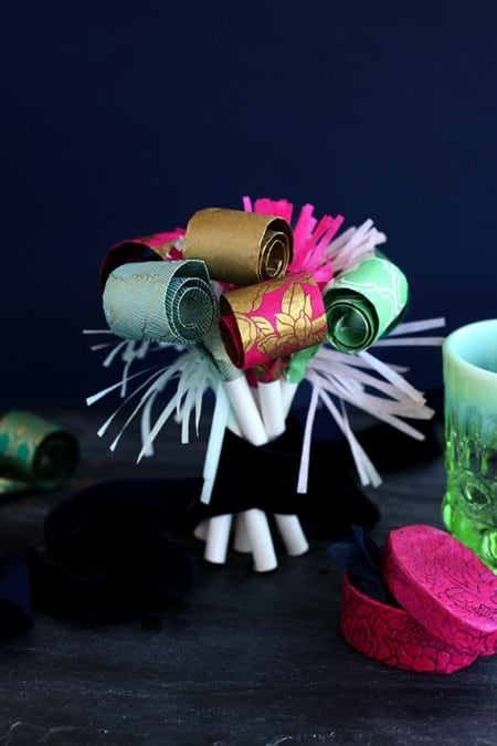 DIY New Year's Eve Party Blowers