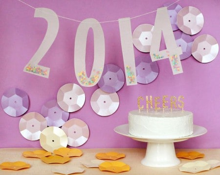 New Year's Party Decor