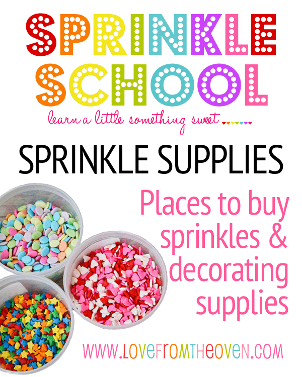 Where To Buy Sprinkles