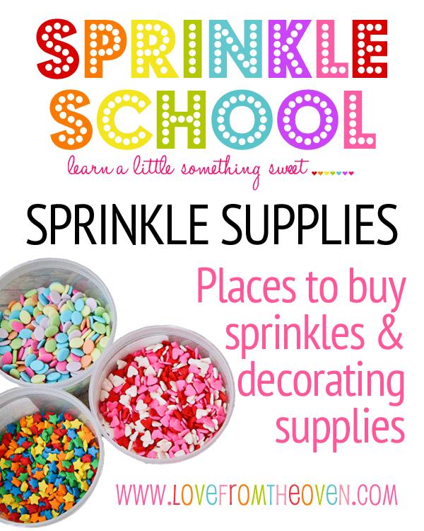 Where To Buy Sprinkles