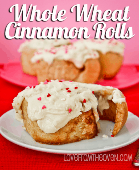 Whole Wheat Cinnamon Roll Recipe