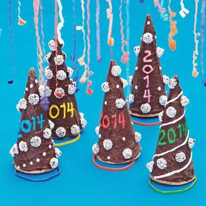 New Year's Hat Cones