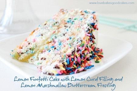 Lemon Funfetti Cake