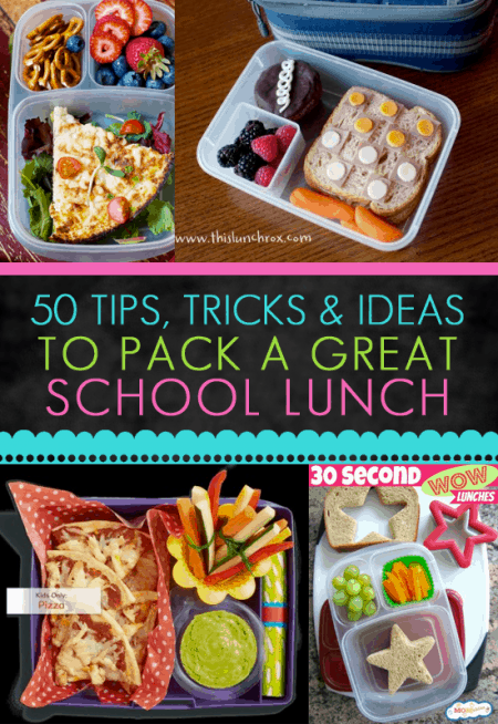 Tips and Tricks To Packing A Great School Lunch