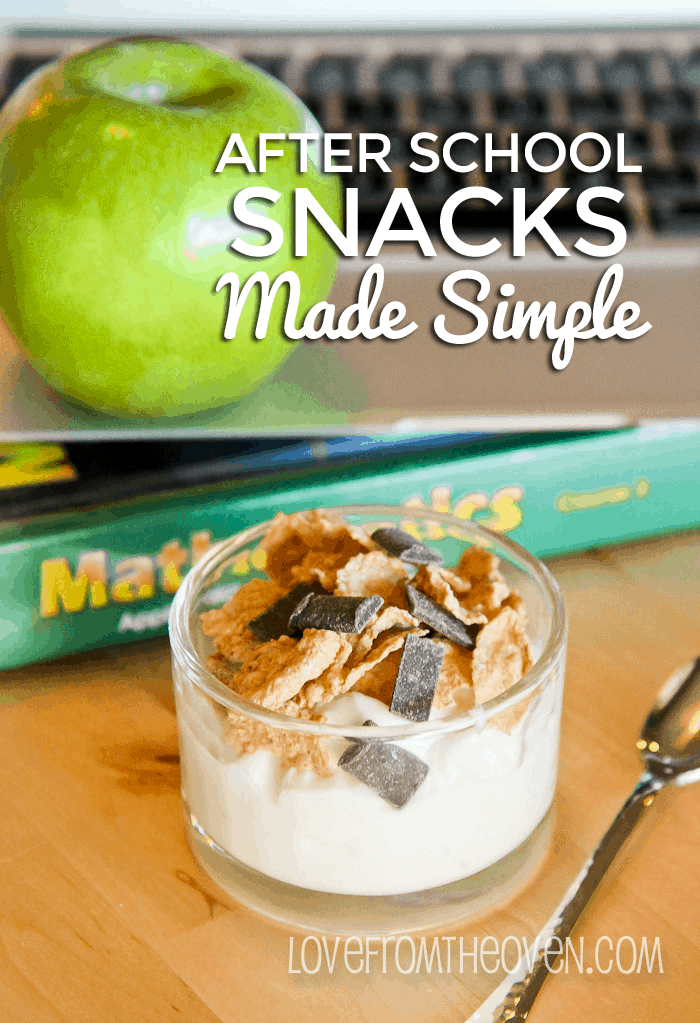 After School Snacks Made Simple