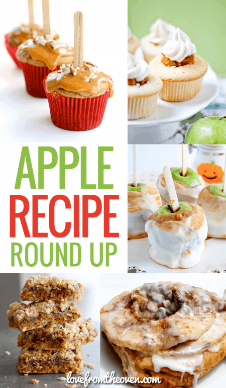 Apple Recipe Round Up