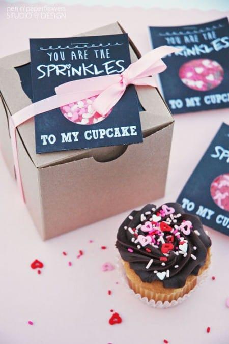 Valentine Sprinkle Gift Cards