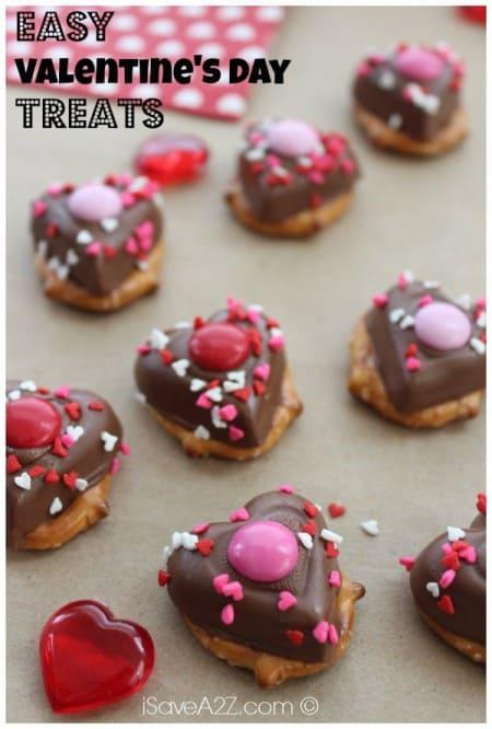 Easy Valentine Pretzels