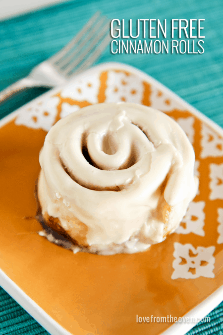 Gluten Free Cinnamon Roll Recipe