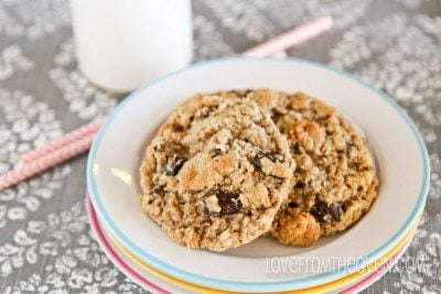 Oatmeal Cookies Made Without Flour