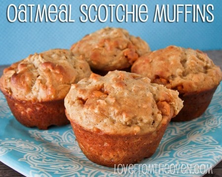 Oatmeal Scotchie Muffin Recipe