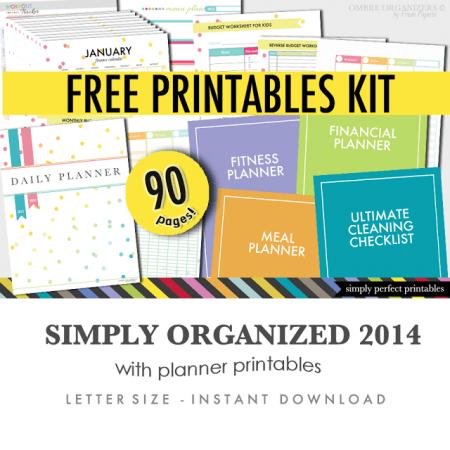 Free Printables Kit