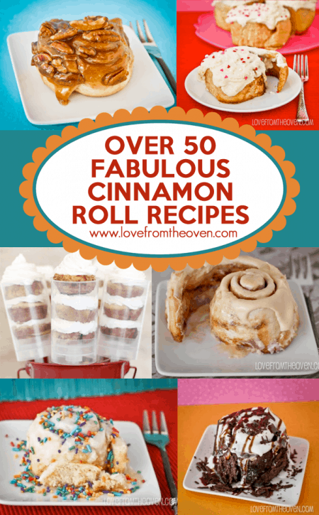 Cinnamon Roll Recipe Round Up