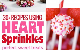 Recipes using heart sprinkles