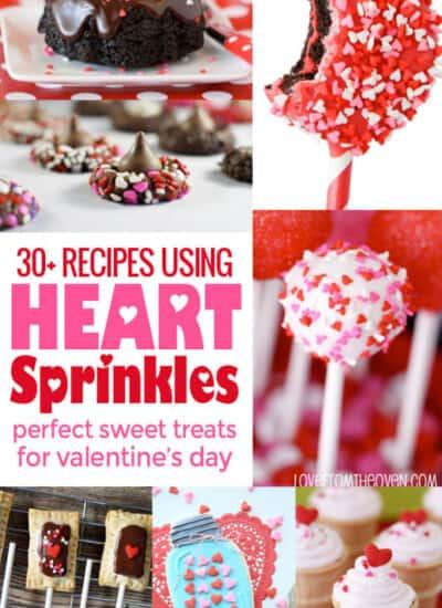 Recipes using heart sprinkles
