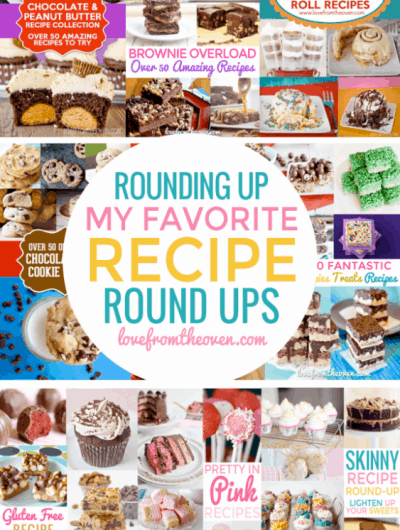 My Favorite Recipe Round Ups
