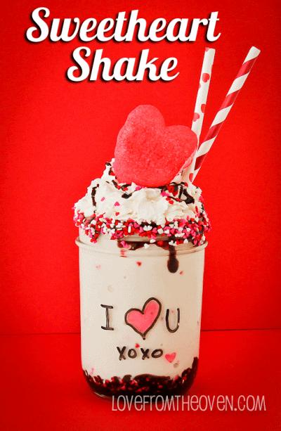 Valentine Milkshake